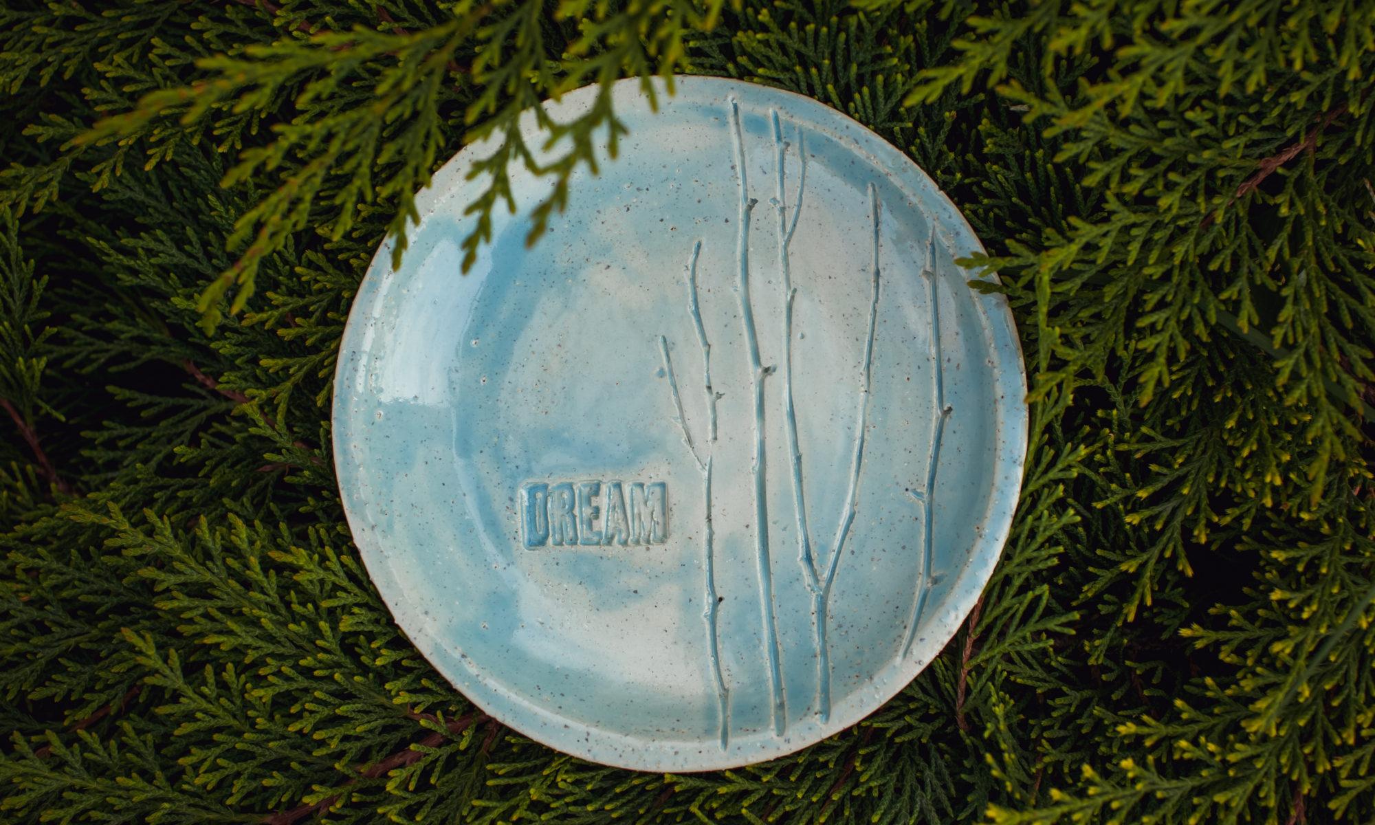 "тарелка ""dream"" маленькая"