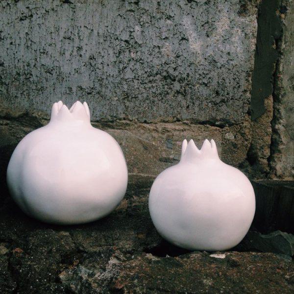 набор белых гранатов