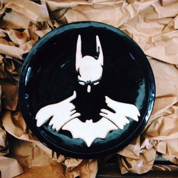 """тарелка """"batman"""""""