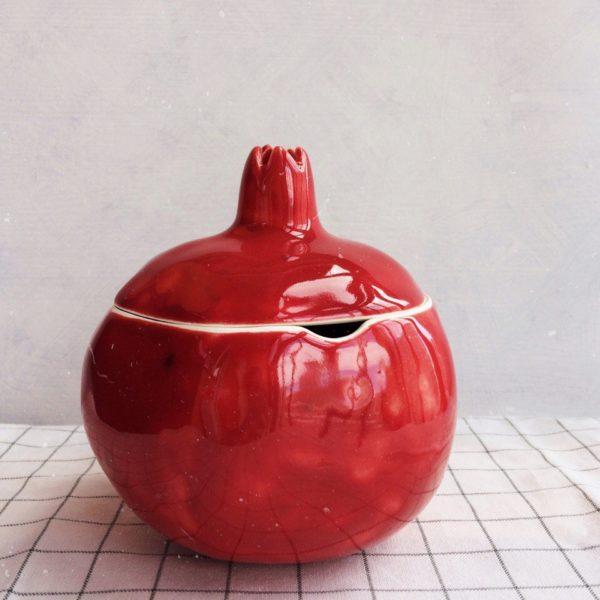 гранат-сахарница красная большая