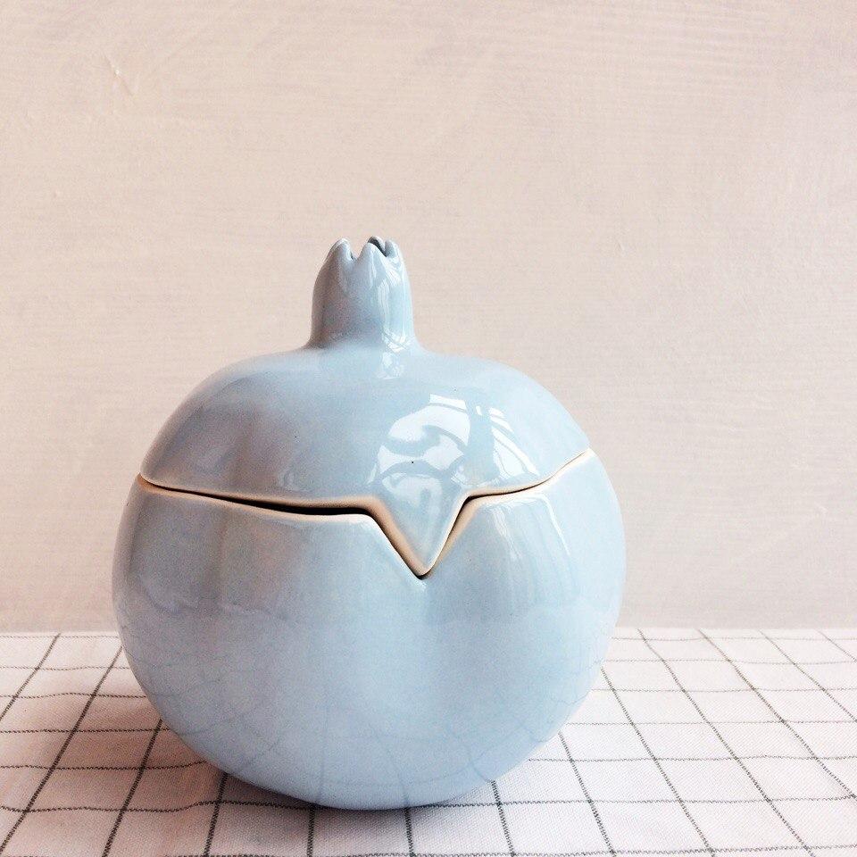 гранат-шкатулка голубой большой