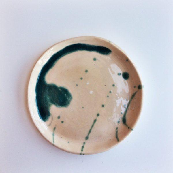 тарелка с каплями маленькая