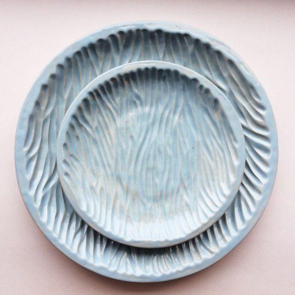 """Комплект тарелок """"рельеф"""""""