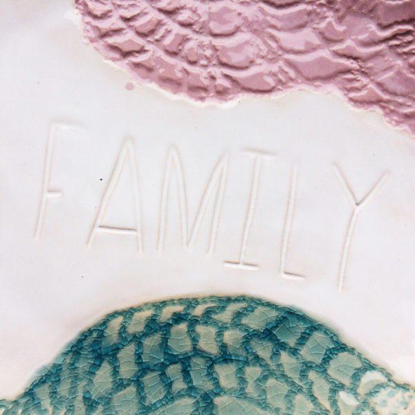 """Тарелка """"family"""" средняя"""
