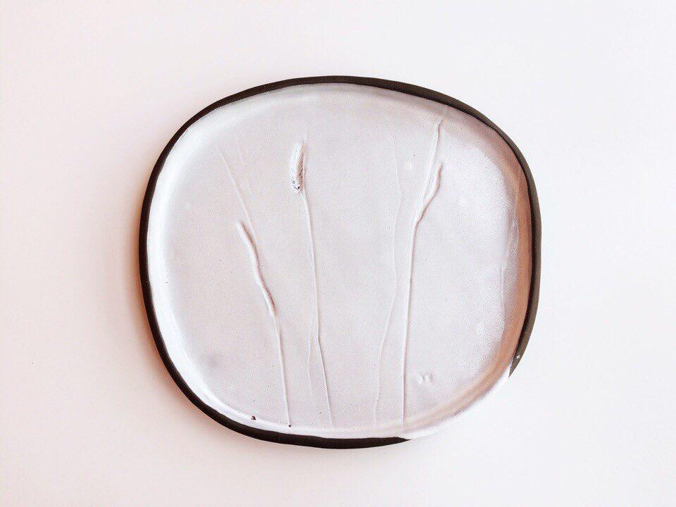 Тарелка «травы» средняя